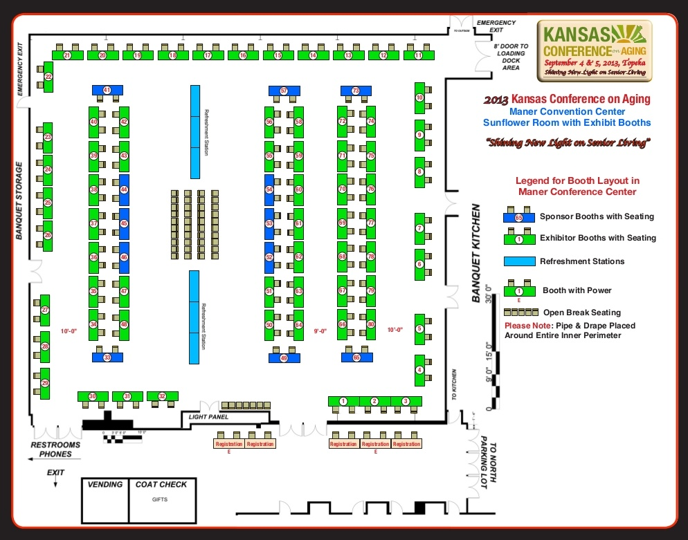 Event Booth Layout